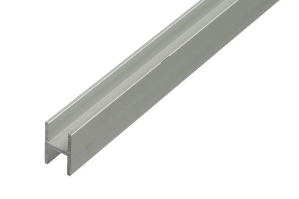 aluminium h profil alu h profile eloxiert im alu shop f hohlkammerpaneele. Black Bedroom Furniture Sets. Home Design Ideas