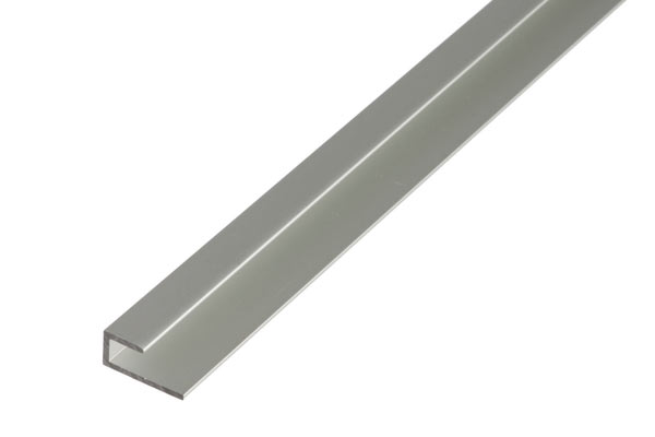 abschlussprofil aluminium selbstklemmend eloxiert im shop. Black Bedroom Furniture Sets. Home Design Ideas